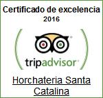 Tripadvisor Certificado de Excelencia 2016