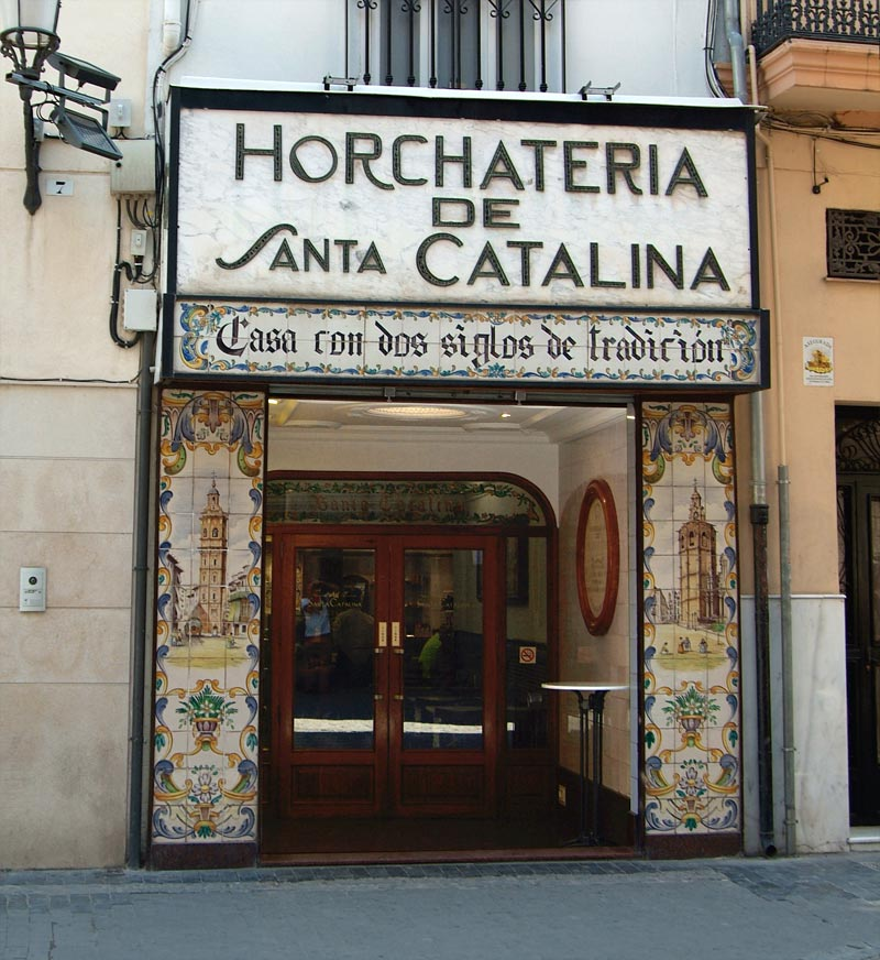 Entrada Horchateria Santa Catalina